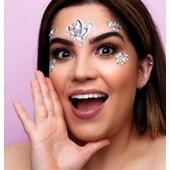 Adesivo facial Tbmake pedras para o rosto 01 prata cristal