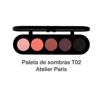 Atelier Paris Paleta Sombras importada T02 Original