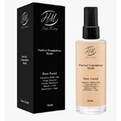 Base liquida facial Hoshi Makeup alta cobertura mate cor H4Y