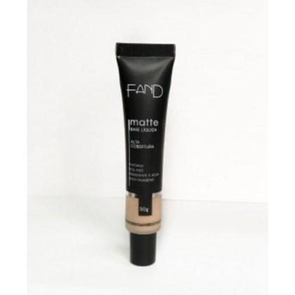 Base Liquida Matte Fand Makeup Cor 1 Resistente A Agua
