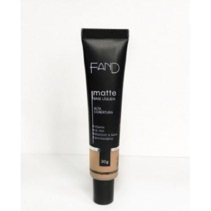 Base Liquida Matte Fand Makeup Cor 2 Resistente A Agua