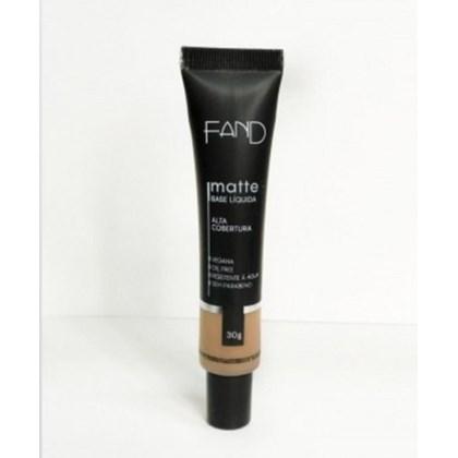 Base Liquida Matte Fand Makeup Cor 4 Resistente A Agua