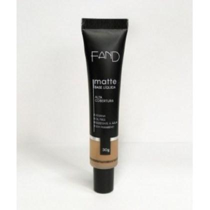 Base Liquida Matte Fand Makeup Cor 5 Resistente A Agua