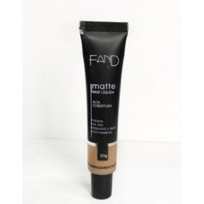 Base Liquida Matte Fand Makeup Cor 6,75 Resistente A Agua