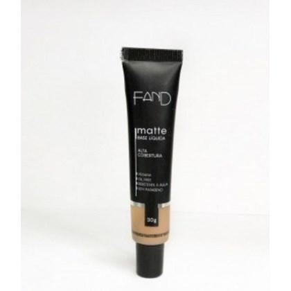 Base Liquida Matte Fand Makeup Cor 6 Resistente A Agua