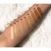Base Liquida Matte Fand Makeup Cor 7 Resistente A Agua
