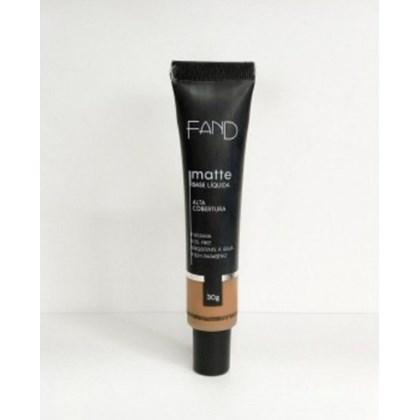 Base Liquida Matte Fand Makeup Cor 8 Resistente A Agua