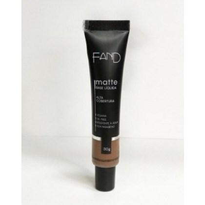 Base Liquida Matte Fand Makeup Cor 9 Resistente A Agua