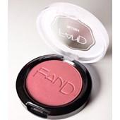 Blush em pó compacto RAK Fand Makeup acetinado