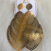 Brinco Bijouteria Modelo 27 Dourado