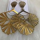 Brinco Bijouteria Modelo 29 Dourado