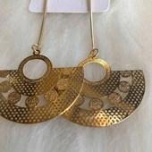 Brinco Bijouteria Modelo 33 Dourado