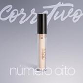 Corretivo liquido Poá Beauty Cor 8 com Ac Hialuronico vit E