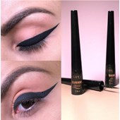 Delineador liquido Precision Fand Makeup cor preta