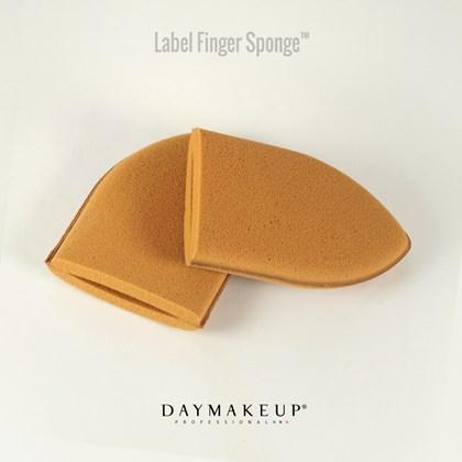 Esponja de dedos Daymakeup macia Soft Sponge um par