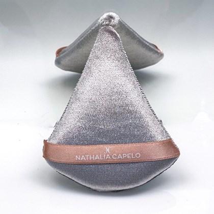 Esponja triangulo veludo Nathalia Capelo Nath prata