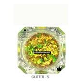 Glitter Camaleao Multicromatico Ana Paula Marçal Cor 15 Multicor Amarelo Verde Farelo