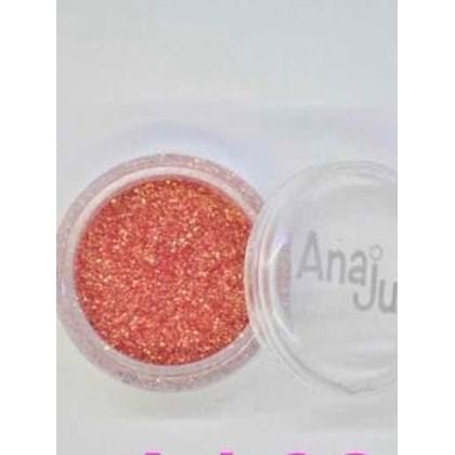 Glitter Fino Anaju Aj 024 Salmão
