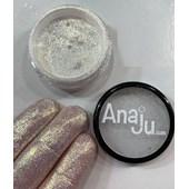 Glitter fino Anaju cor Aj 23 tipo reflects dourado original