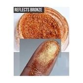 Glitter importado Mac Fracionado 0,5g Glitter Reflects Bronze