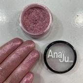 Glitter ultrafino Anaju cor Aj 37 original lacrado rosa