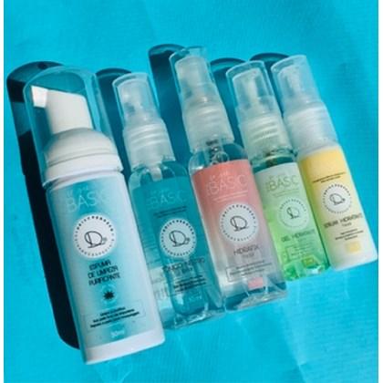 Kit 5 miniaturas Linha Basics Deisy Perozzo limpa hidrata Tipo de pele:Todos
