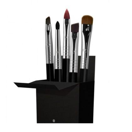 Kit 5 pinceis maquiagem precisão Daymakeup set profissionais