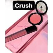 Kit de Blush em creme e Gloss Ana Paula Marçal cor Crush