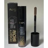 Mascara rimel sobrancelhas Fand Makeup Perfect Brow cor MS02 cor: MS02