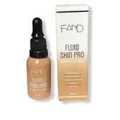 Nova base fluida Skin Pro Fand Makeup cor 3 matte vegana