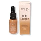 Nova base fluida Skin Pro Fand Makeup cor 4 matte vegana