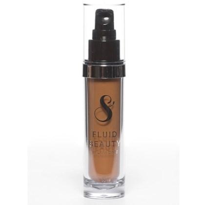 Nova base Liquida Fluid Beauty Suelen Makeup Cor 08
