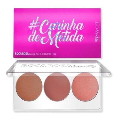 Paleta De Blush Boca Rosa # Carinhademetida Payot