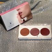 Paleta de blush cremoso Nathalia Capelo Lip & Cheek labios