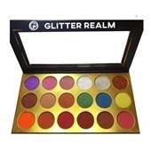 Paleta Sombras E Glitters Glitter Realm Luna Vega importada