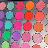 Paleta Sombras importada Coloridas Kaleidoscope Eyes Peachy Queen