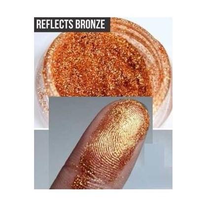 Pigmento importado Mac Fracionado 0,5g Glitter Reflects Bronze