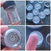 Pigmento importado Mac Fracionado 0,5g Original Glitter Silver