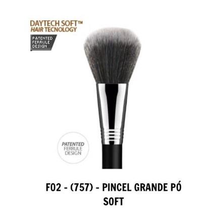 Pincel Daymakeup Pó Grande Soft F02