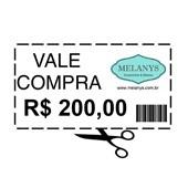 VALE-PRESENTE R$ 200,00